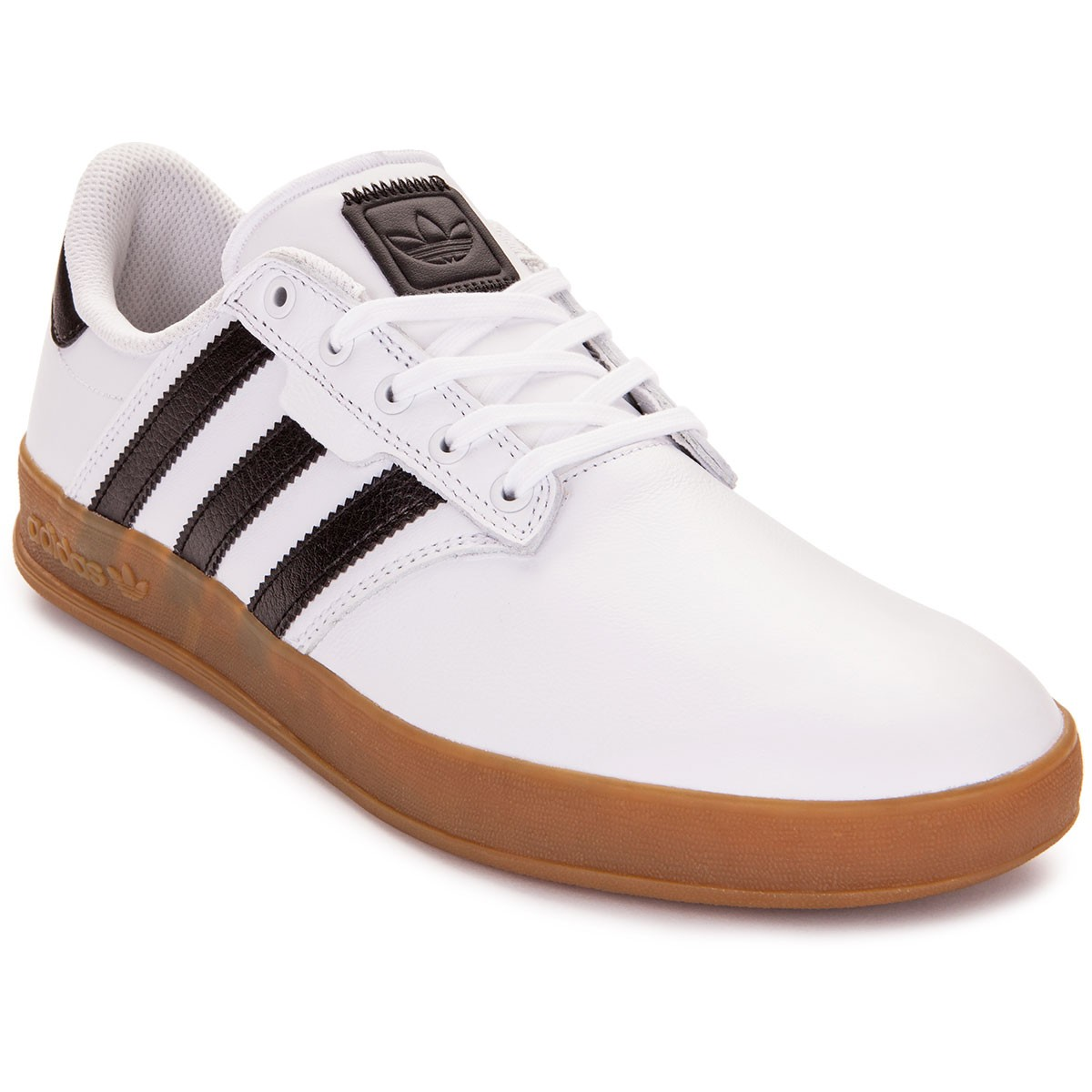 Adidas White Canvas Shoes Women