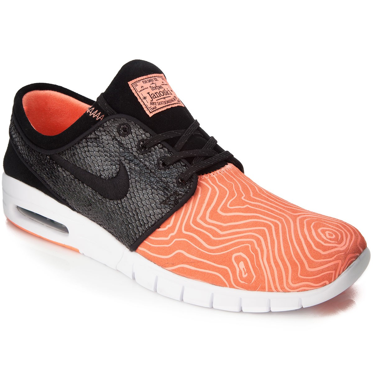Nike sb stefan janoski max suede fish ladder shoes for Fish shoes nike