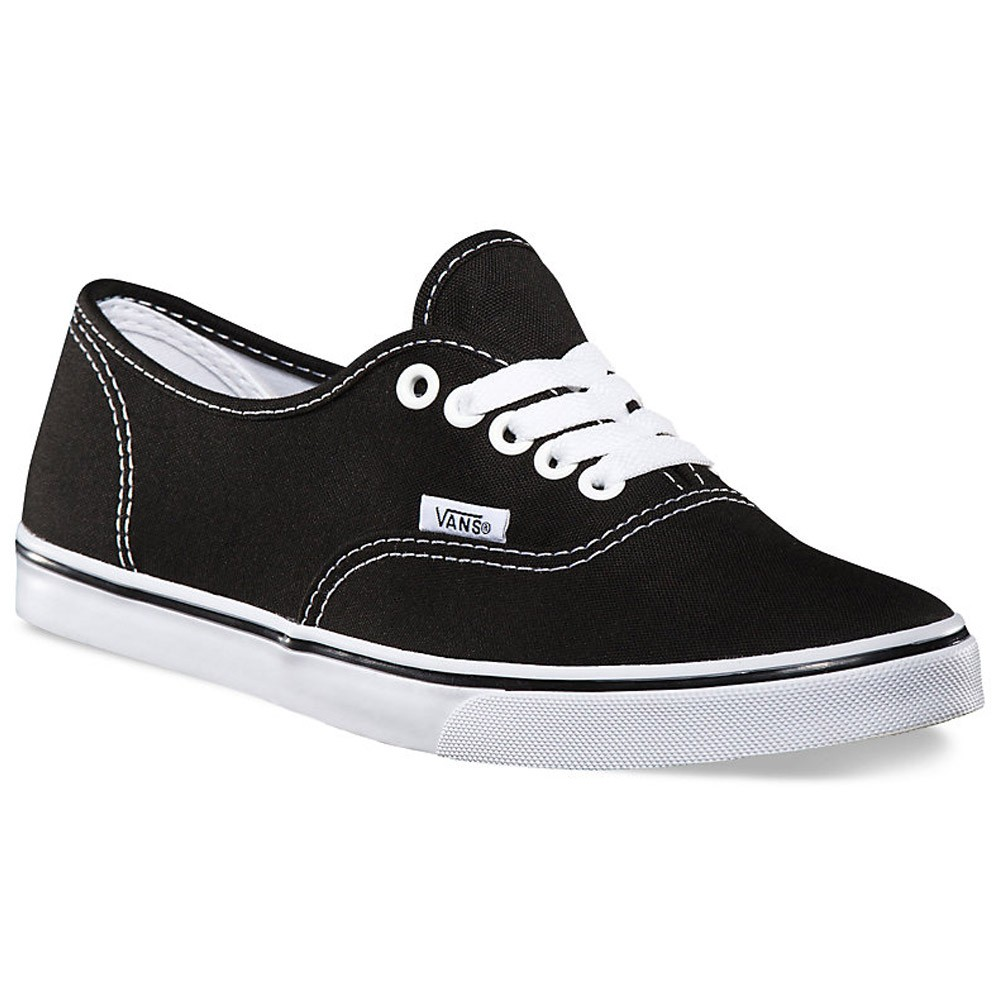 vans authentic lo pro shoes black true white 3 5. Black Bedroom Furniture Sets. Home Design Ideas