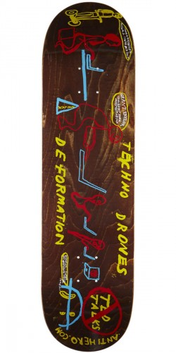 Anti-Hero Taylor Techno Drones Skateboard Deck - 8.62