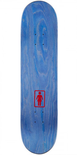 Girl Brandon Biebel One Off Skateboard Complete - 8.00""
