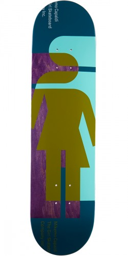 Girl Mike Mo Hardcourt Skateboard Deck - 7.875""
