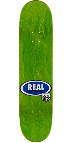 "Real Brock Timber LowPro 2 Skateboard Complete - 8.06"" - Yellow/Black Stain"