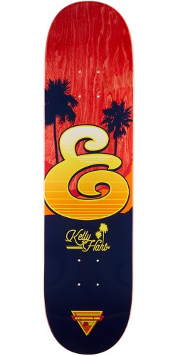 "Expedition Kelly Hart Coastal Skateboard Deck - 8.06"" - Red Stain"