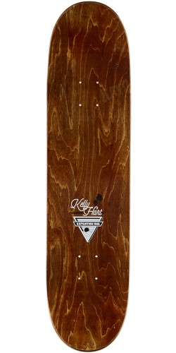 "Expedition Kelly Hart Coastal Skateboard Complete - 8.06"" - Red Stain"