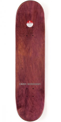 Alien Workshop Ordo Small Skateboard Complete - 8.00 - Teal Stain