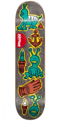 Almost Dumb Doodle R7 Skateboard Deck - Daewon Song - 7.75""