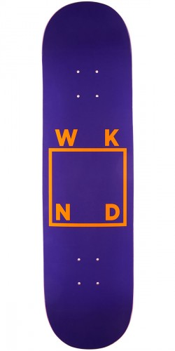 WKND Fedex Logo Skateboard Deck - 8.125""
