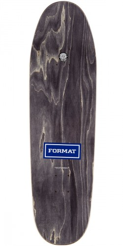 Format Leadership Skateboard Deck - Shaped - Red Stain