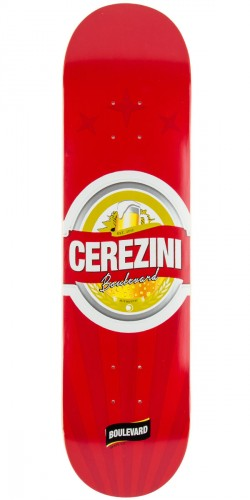 Boulevard Genuine Cerezini Skateboard Deck - 8.0""