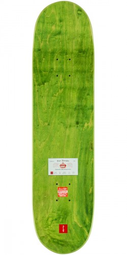 """Chocolate Anderson Calling Card Skateboard Deck - 8.125"""" - Green Stain"""