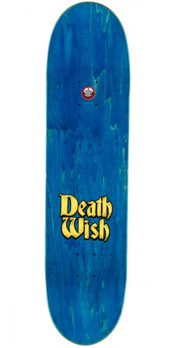 Deathwish Slash Story Time Skateboard Deck - 8.0""
