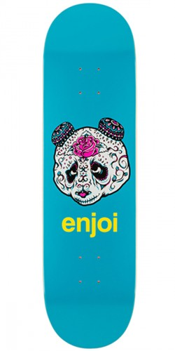 Enjoi Quinceanera Panda R7 Skateboard Deck - Blue - 8.5""