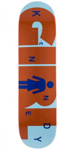 Girl Kennedy Advertype Skateboard Deck - 8.0""