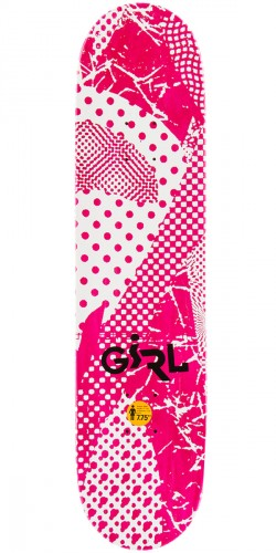 Girl Mike Mo Candy Flip Skateboard Deck - 7.75""