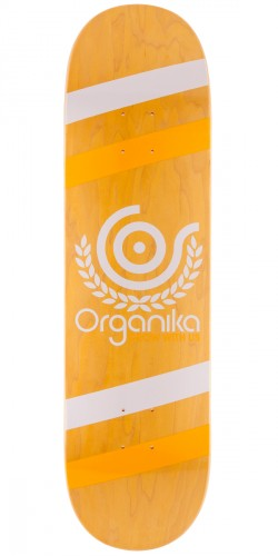 "Organika Price Point Skateboard Deck - 8.25"" - Yellow"