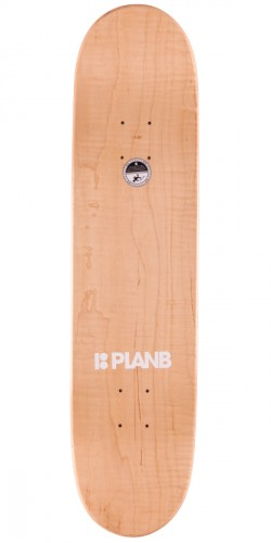 "Plan B Team OG Skateboard Deck - 7.625"" - Red"