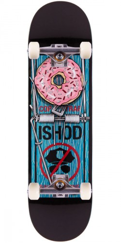 """Real Ishod Wair Bust Control Skateboard Complete - Teal - 8.38"""""""