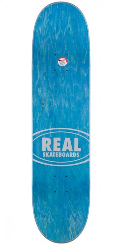 Real Luxury Oval Skateboard Complete - 8.06""