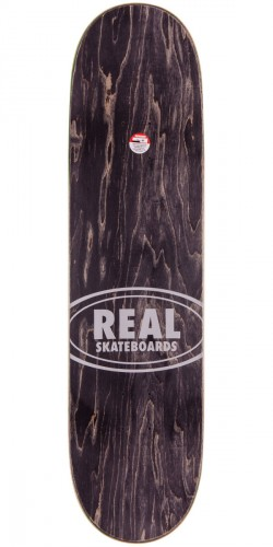 Real Wair Fabric Oval Embossed Skateboard Deck - 8.25""