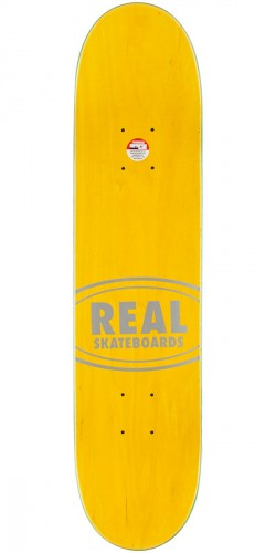 Real Team Wood Oval Mini Skateboard Deck - 7.21""