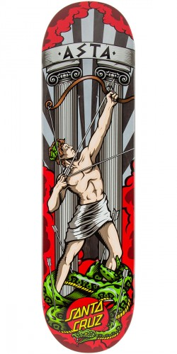 Santa Cruz Asta Apollo Skateboard Deck - 8.26""