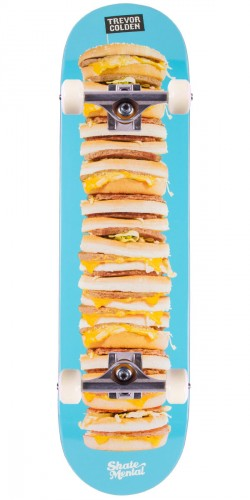 Skate Mental Colden Burger Stack Skateboard Complete - 8.25""