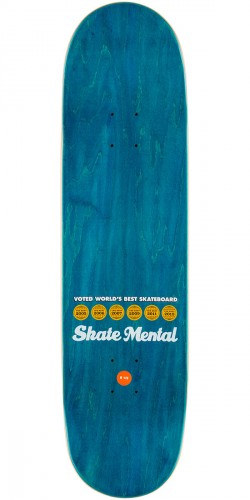 Skate Mental Staba Blocked Skateboard Deck - 8.5""