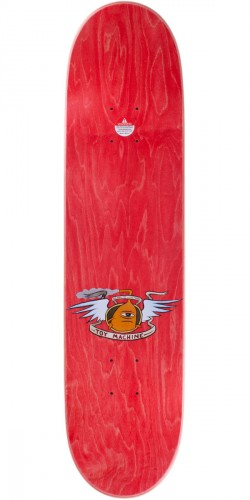 Toy Machine Fists Skateboard Deck - Red - 7.75""