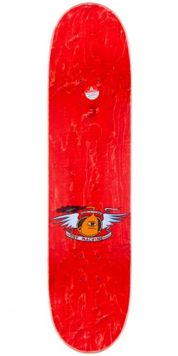 Toy Machine Fists Skateboard Deck - Brown Stain - 8.25""