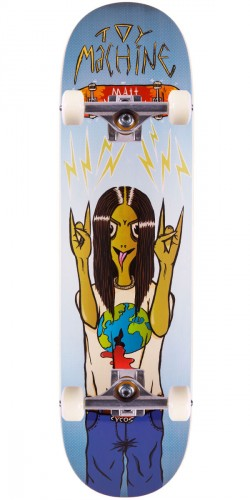 Toy Machine Matt Bennett Metal Head Skateboard Complete - 8.5""