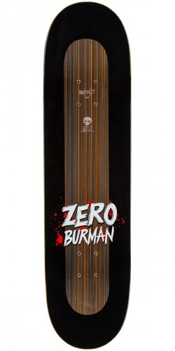 Zero Burman Animal Attack Impact Light Skateboard Deck - 8.375""