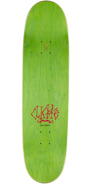 Cliche Brophy Walrus by Cliver R7 Skateboard Complete- Yellow Stain - 8.625""