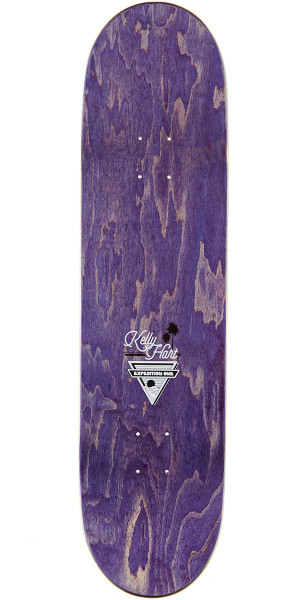 """Expedition Kelly Hart Coastal Skateboard Deck - 8.25"""" - Yellow Stain"""