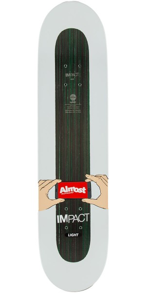 """Almost Face Recognition IL Willow Skateboard Deck - 8.0"""""""