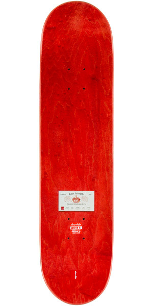 "Chocolate Hsu Calling Card Skateboard Complete - 8.0"" - Red Stain"