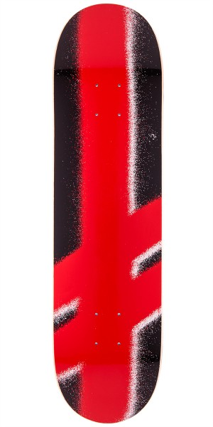 Deathwish Giant Gang Logo Skateboard Deck - Black/Red - 8.0""