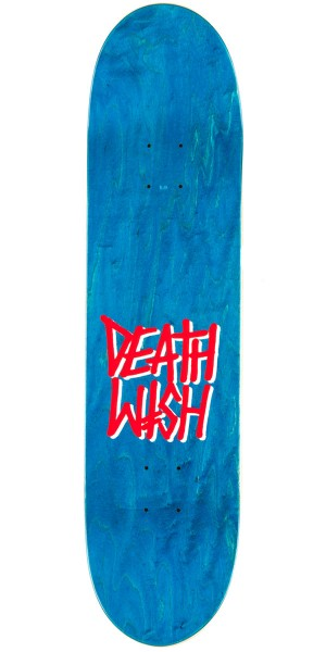 Deathwish Original G Logo Neon Sign Skateboard Deck - 7.75""