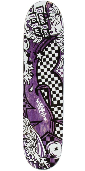 DGK Back To Cali Skateboard Deck - 7.8""