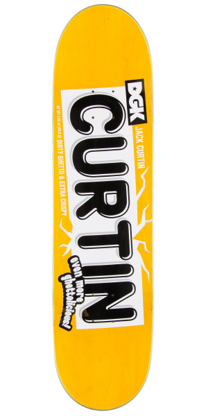 DGK Jack Curtin Crunch Skateboard Deck - 8.1""