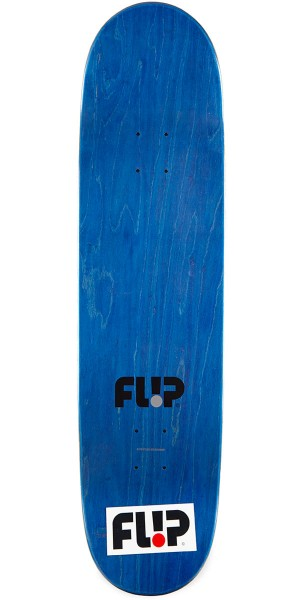 "Flip Burnquist Phoenix Shield Skateboard Complete - 8.50"" - Blue Stain"