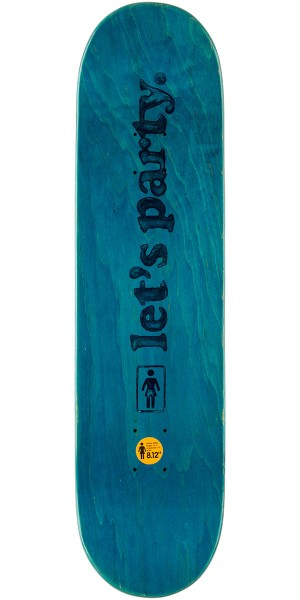 Girl Mariano Party Girls Skateboard Deck - 8.125""