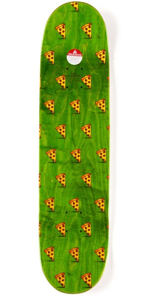 Pizza Review Skateboard Deck - 8.125""