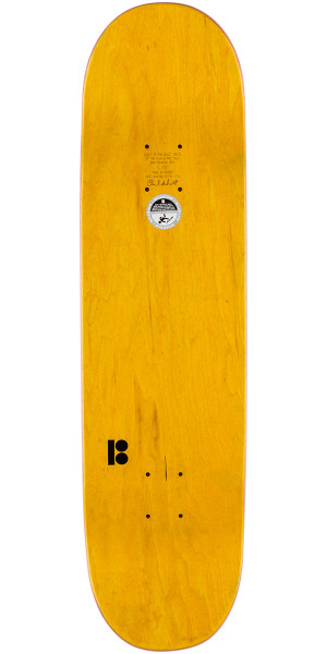 Plan B Way Lines Skateboard Deck - 8.25""