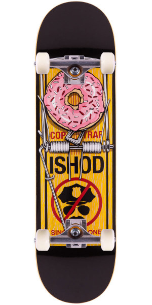 Real Ishod Wair Bust Control Skateboard Complete - Yellow - 8.38""