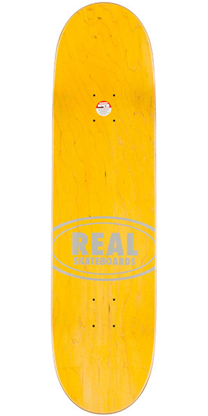 "Real Ramondetta Seal the Deal Skateboard Complete - 8.38"" - Teal Stain"