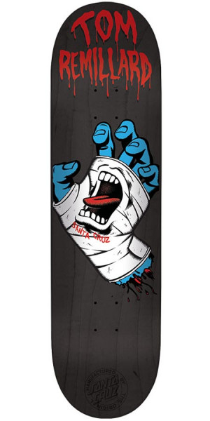 Santa Cruz Remillard Hand Eight Two Pro Skateboard Deck - 8.20""