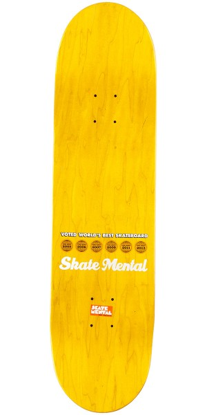 Skate Mental Curtain Matches Skateboard Complete - 8.375""