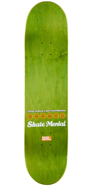 Skate Mental Logo Repeat Skateboard Complete - 8.00""