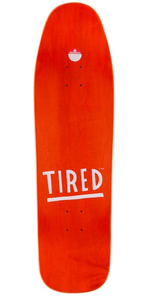 Tired Just So Tired Skateboard Complete - 9.25""